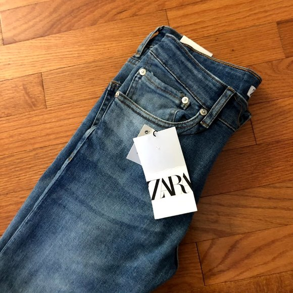 BRAND NEW ZARA JEANS WITH TAGS